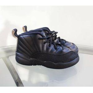 Nike Air Jordan Retro 12 Xll Black Toddler